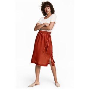 NWT H&M Velour Skirt Size 2